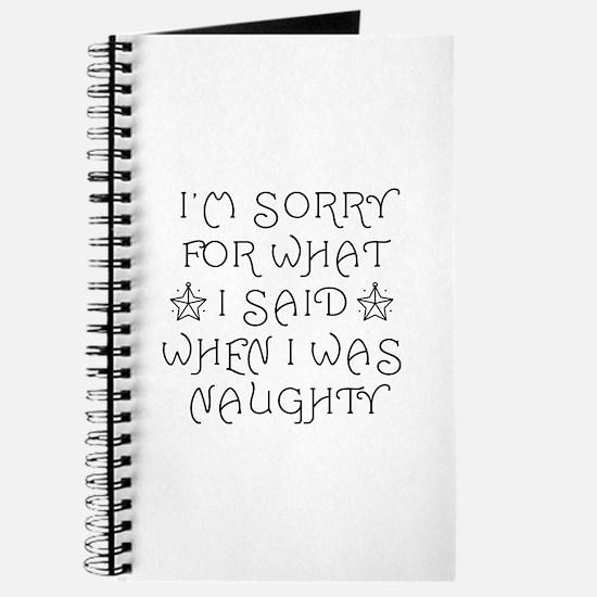 Said Naughty Journal