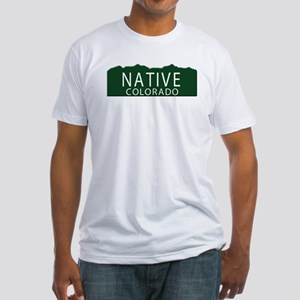 Native Colorado Fitted T-Shirt