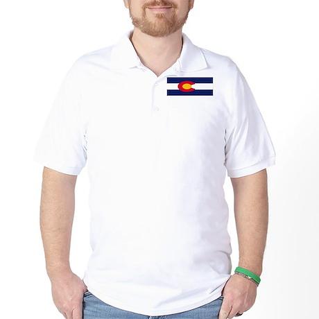 Colorado Flag Golf Shirt