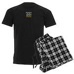 IAAN Square Men's Dark Pajamas