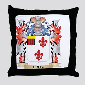 Fritz Coat of Arms - Family Crest Throw Pillow