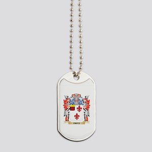 Fritz Coat of Arms - Family Crest Dog Tags