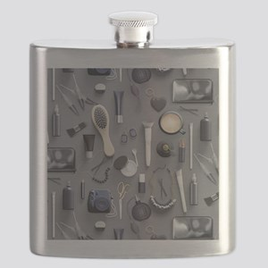 Black Vanity Table Flask
