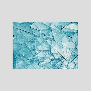 Broken Glass 5'x7'Area Rug