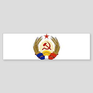 Emblem of Socialist France Bumper Sticker