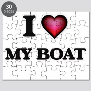 I Love My Boat Puzzle