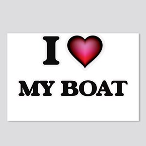 I Love My Boat Postcards (Package of 8)