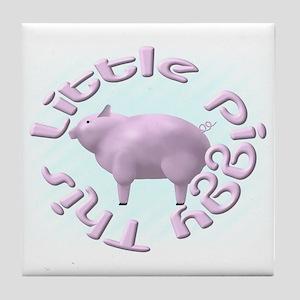 This Little Piggy 2 Tile Coaster