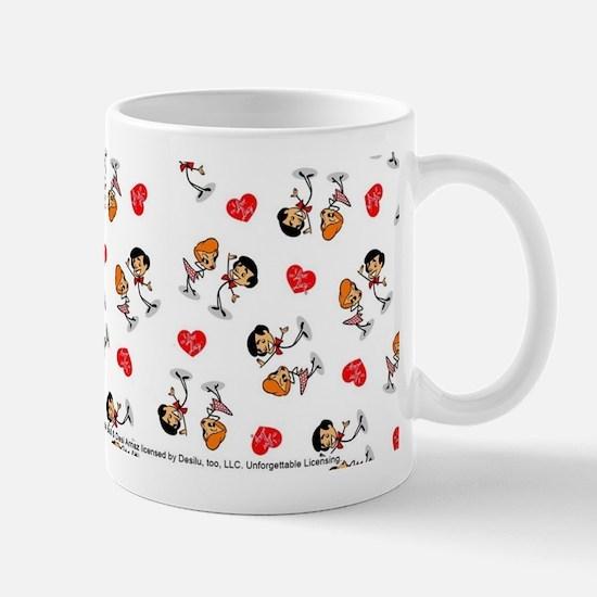 I Love Lucy: Pattern Logo Mug