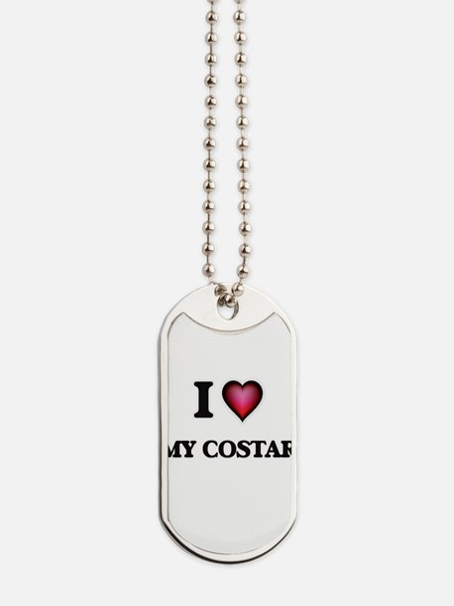 I love My Costar Dog Tags