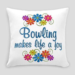 Bowling Joy Everyday Pillow
