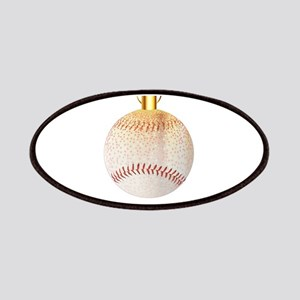 Christmas Decoration Baseball Patch