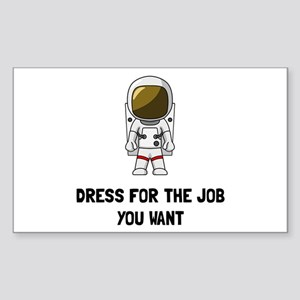 Astronaut Dres Sticker