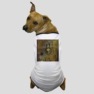 Awesome skull Dog T-Shirt