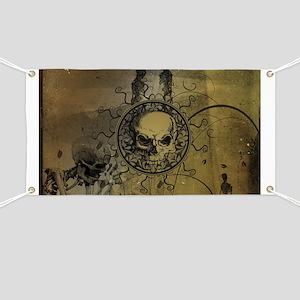 Awesome skull Banner