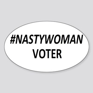 #NASTYWOMAN Voter Sticker