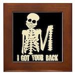 I Got Your Back Framed Tile