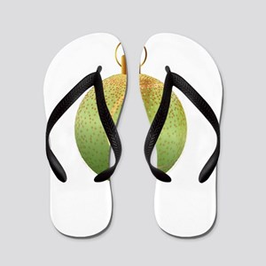 Christmas Decoration Tennic Ball Flip Flops