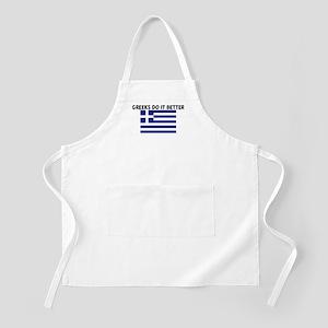 GREEKS DO IT BETTER BBQ Apron