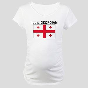 100 PERCENT GEORGIAN Maternity T-Shirt