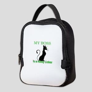 My Cat Boss Neoprene Lunch Bag