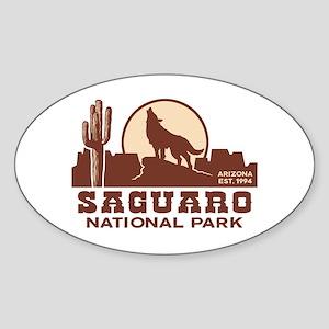 Saguaro National Park Sticker (Oval)