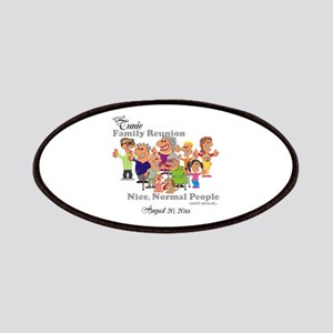 Personalized Family Reunion Funny Cartoon Patch