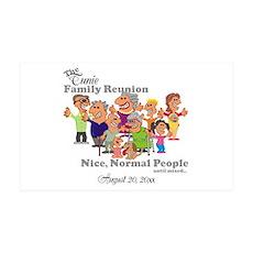 Personalized Family Reunion Funny Cartoon Wall Dec