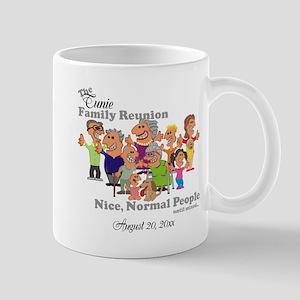 Personalized Family Reunion Funny Cartoon Mugs