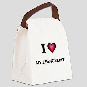 I love My Evangelist Canvas Lunch Bag