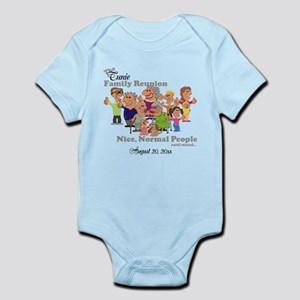 Personalized Family Reunion Funny Cartoon Body Sui
