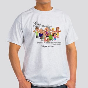 Personalized Family Reunion Funny Cartoon T-Shirt