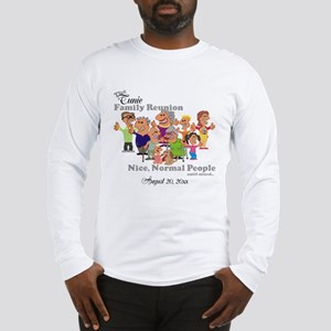 Personalized Family Reunion Funny Cartoon Long Sle