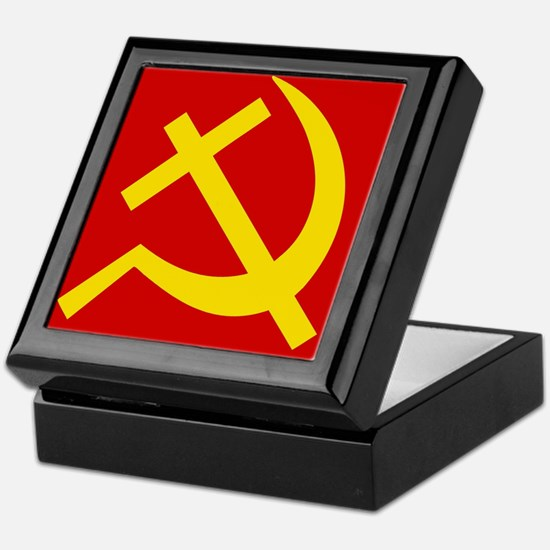 Emblem of Christian Socialism / Chris Keepsake Box