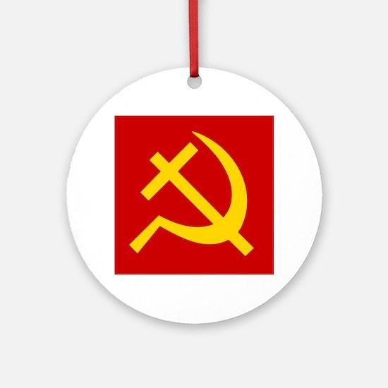 Emblem of Christian Socialism / Chr Round Ornament