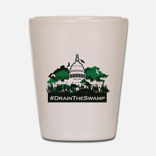 Trump-Drain the Swamp Shot Glass