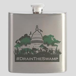 Trump-Drain the Swamp Flask