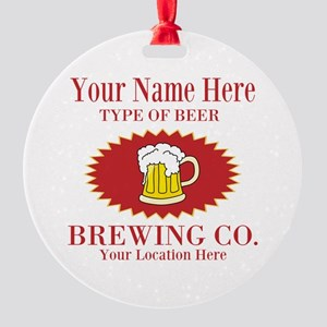Your Brewing Company Ornament