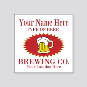 Your Brewing Company Sticker