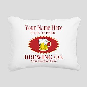 Your Brewing Company Rectangular Canvas Pillow