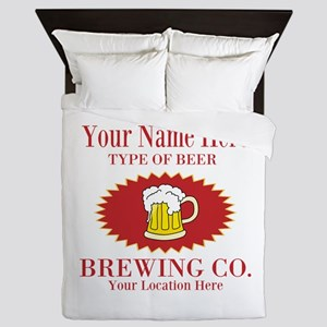 Your Brewing Company Queen Duvet