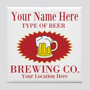 Your Brewing Company Tile Coaster