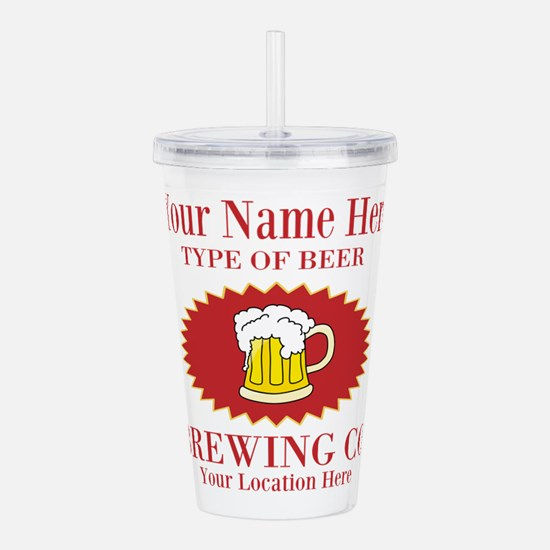 Your Brewing Company Acrylic Double-wall Tumbler