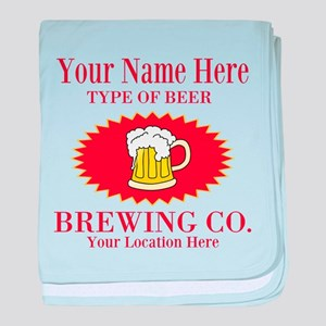 Your Brewing Company baby blanket