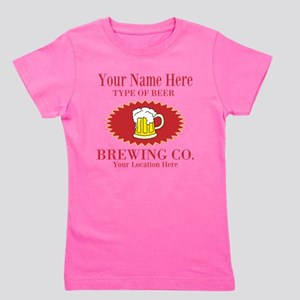Your Brewing Company Girl's Tee