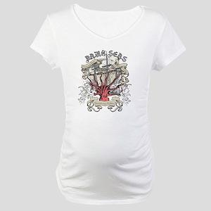 Dark Seas Kraken Maternity T-Shirt