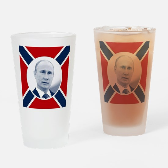 Russian president Drinking Glass
