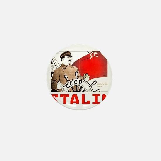 Funny Stalin Mini Button