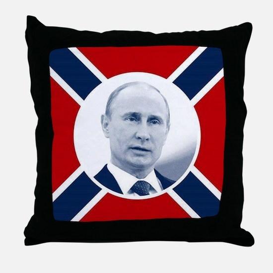 Unique Vladimir putin Throw Pillow
