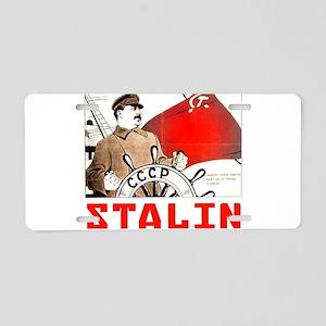 Stalin Aluminum License Plate